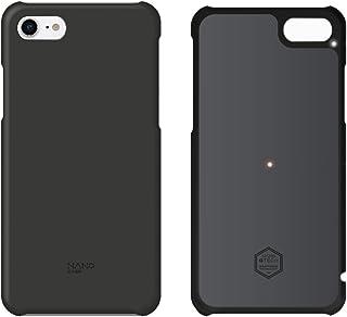 北欧ブランド Shield Patrol(シールドパトロール) NanoCase(ナノケース) iPhone 8専用 最大20%バッテリーを長持ち (NC0 1-i8-OPBK) 黒 (正規代理店) 放熱 発熱対策 ナノグラフェン素材