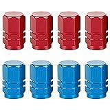 8 Tapas de válvula de neumático de Coche, Tapas de válvula de Coche, Tapones de Rueda de Coche, Tapones neumáticos...