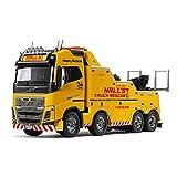 Tamiya 1:14 RC Volvo FH16 Remolque 8x4, Kit de Montaje, teledirigido, camión, Juguete de...