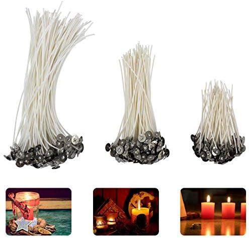 Madholly 300 mecha vela, mechas para velas en 3 tamaños ...