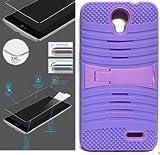 [ NP ARMOR ] Premium Tempered GLASS Screen Protector + uLILAC/LILAC Phone Case For ZTE Prestige 2 / N9136 / ZTE ZFive 2 LTE / Z836 Z837 / Avid Trio / Z833 / ZTE Maven 3 / Z835 / ZTE Overture 3 / Z851M