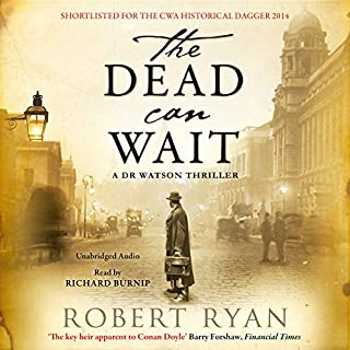 The Dead Can Wait audiobook cover art