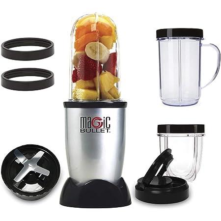 Nutribullet Mixeur compact haute vitesse pour Smoothies fruits et légumes 9 accessoires gris