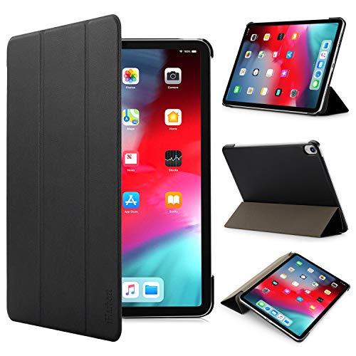 iHarbort iPad Pro 11 inch 2018 Hülle Cover - Ultra dünn Hülle Etui Schutzhülle Holder Stand mit Smart Auto Wake/Sleep Funktion, Schwarz
