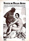 GACETA DE BELLAS ARTES. AÑO XXV. NUM. 432. MARZO 1934.