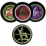Jake's Mint Chew Cherry, BlackBerry, Apple Spice 3 Can Variety Pack with DC Crafts Nation Skin Can Cover - Deer