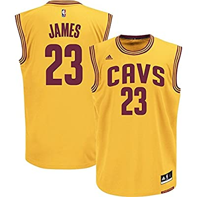 Mens Adidas Cavaliers Lebron James #23 Alternate Jersey