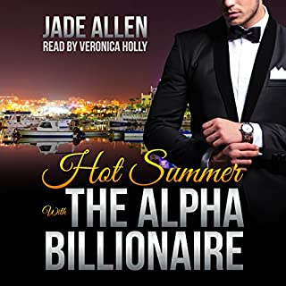 Hot Summer with the Alpha Billionaire audiobook cover art