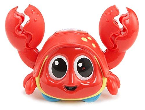 little tikes Lil' Ocean Explorers Crabe à Attraper – Pinces Actives, Technologie sensorielle & Musique – Développe Les facultés motrices, la Coordination & la Confiance, dès la Naissance à 3 Ans