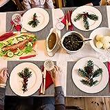 Aiglam platzset abwischbar, tischset Set rutschfest platzdeckchen abwaschbar PVC Abgrifffeste Hitzebeständig Platzdeckchen/Tischset/Tischläufer für Zuhause Restaurant Speisetisch - 7