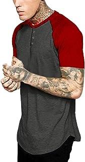 Short Sleeve T-shirt Men 2019, Liraly Men's Summer Casual Slim Top Musle Blouse
