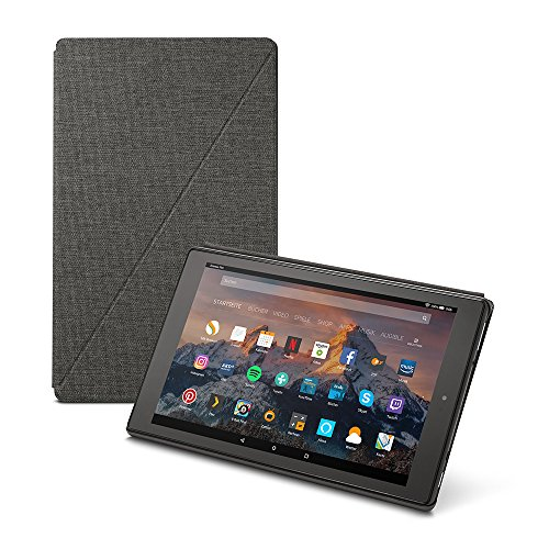 Amazon Fire HD 10-Hülle (10-Zoll-Tablet, 7. Generation - 2017), Dunkelgrau