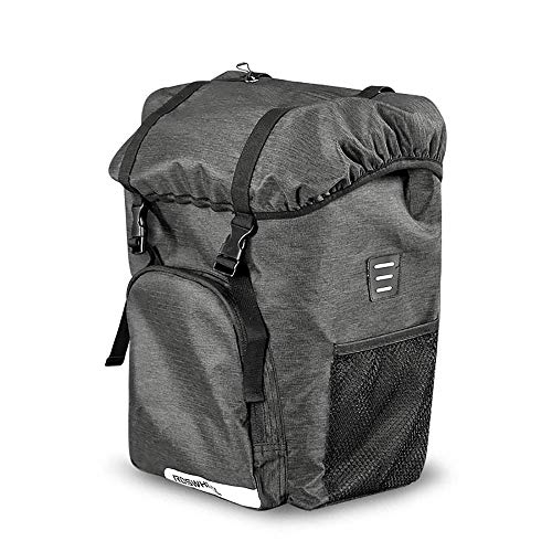 LWAJ - Bolsa para maletero de bicicleta, bolsa de refrigerador para artículos calientes o fríos, equipaje de almacenamiento para bicicleta trasera, bolsa reflectante para bicicleta MTB