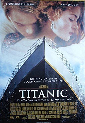 TITANIC Poster Nr. 1 Filmplakat Format 69 x 99 cm