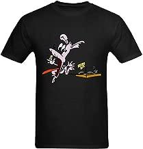 Jollrauk Men's Cartoon Mouse Trap T-Shirt