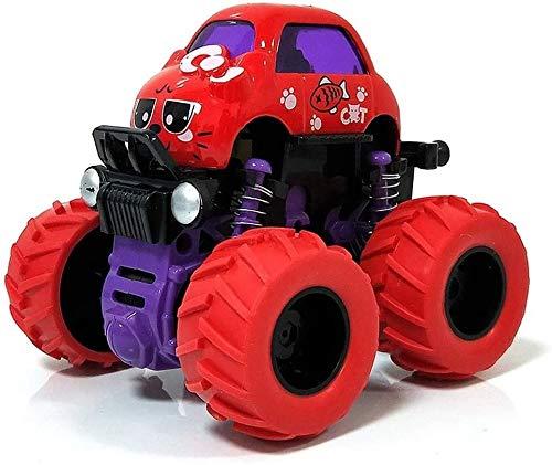 Coche de juguete con control remoto Autobús para niños Modelo de automóvil de juguete Tracción en las cuatro ruedas Vehículo de inercia todoterreno Resistencia al coche de aleación sísmica para niños