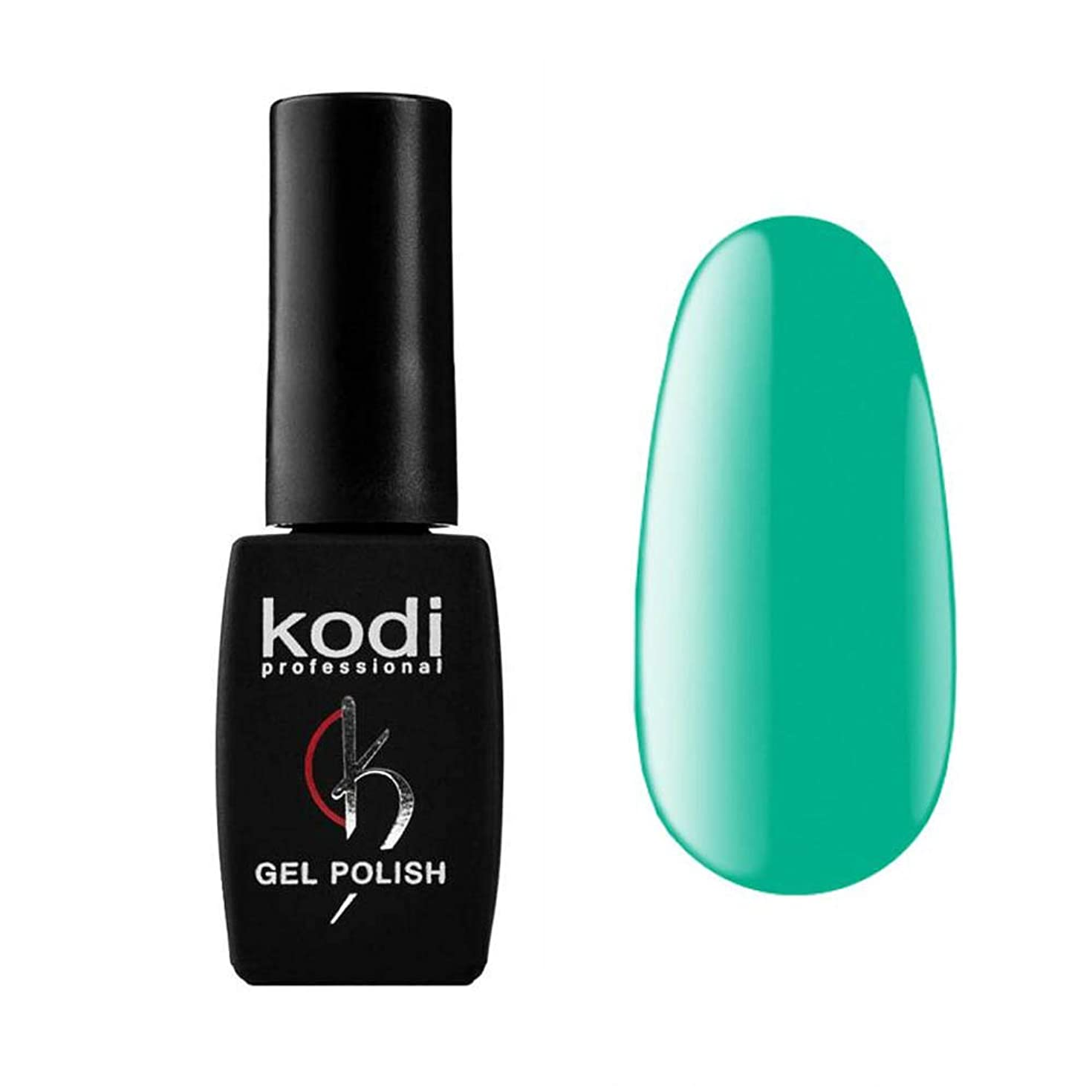 二週間半導体送料Kodi Professional New Collection AQ AQUAMARINE #20 Color Gel Nail Polish 12ml 0.42 Fl Oz LED UV Genuine Soak Off