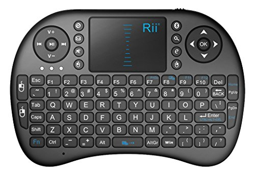 Rii i8BT Bluetooth Mini Wireless Keyboard with Touchpad...