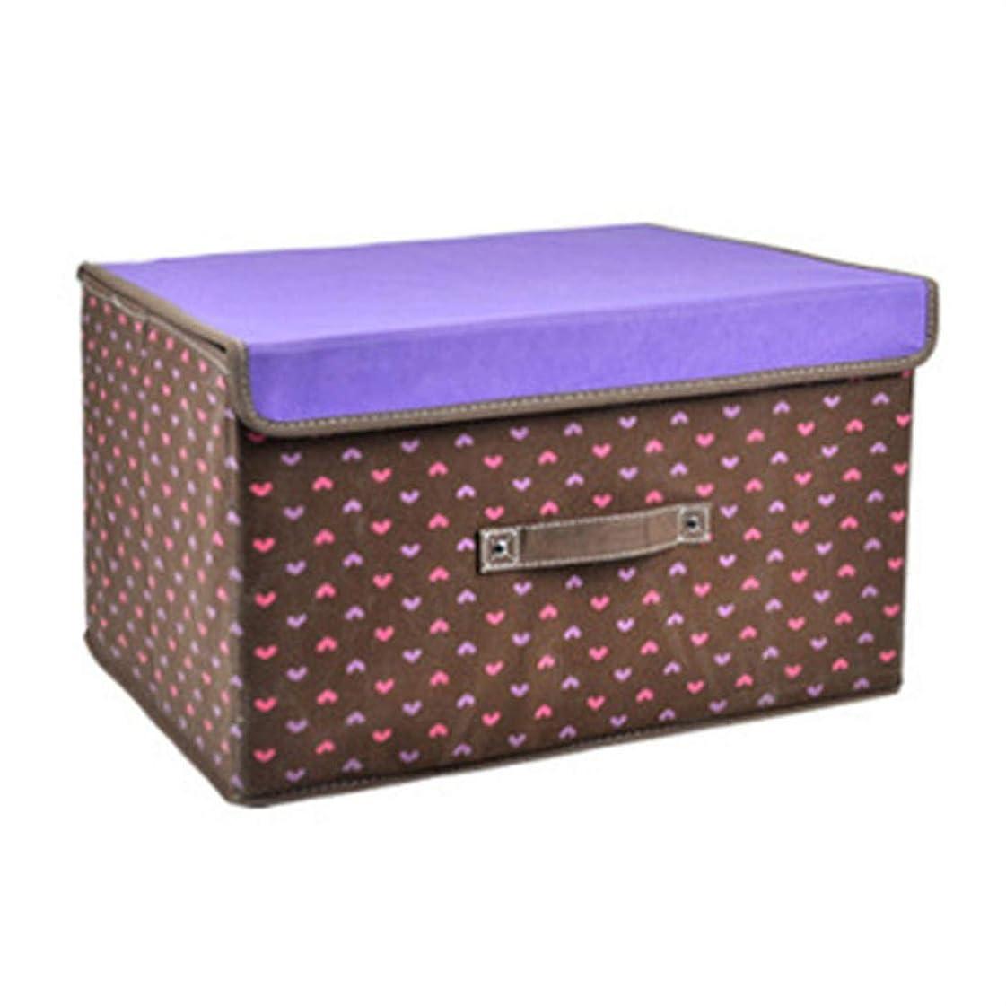 KLUMA 収納ボックス 不織布 ふた付き インナーボックス おしゃれ 大容量 折り畳み 小物入れ 衣類収納 防塵 防カビ 長さ*幅*高さ25*19*15.5cm