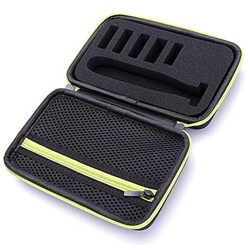 Tasche für Philips One Blade Face QP2520, QP2630, QP2530, QP2620 IOMOY Rasierer Bartschneider Etui, Hart Reise Tragen Hülle