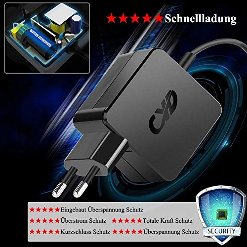 CYD 65W 19.5V 3.33A Adpater-Ladegerät-Universal für HP-Ladekabel-Laptop Elitebook 820 G3 840 G4 Stream 11-y010nr 14-ax020nr 14-AX010CA 14-AX030WM Notebook-Netzteil AC-Adapter