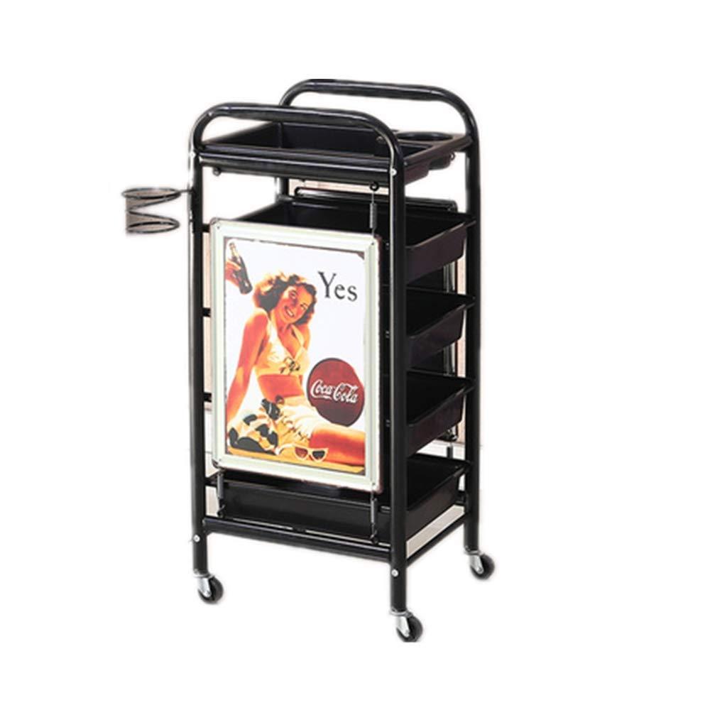 JYSEJ Aspirador uñas, Salon Tray Trolley Beauty Rolling Storage ...