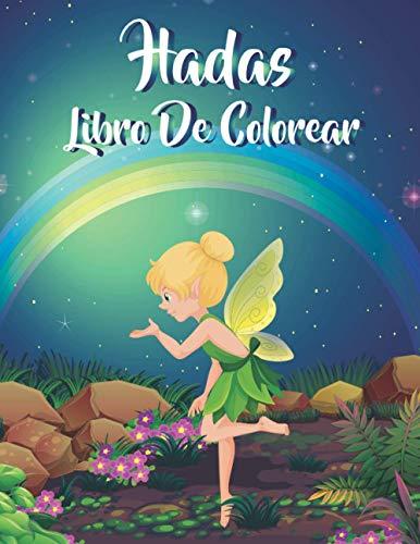 Hadas libro de colorear: Libro de colorear para Niños,...