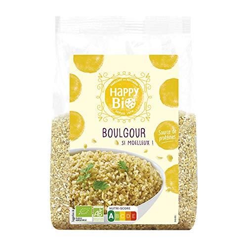 Happy Bio Gros Boulgour Bio 500 g