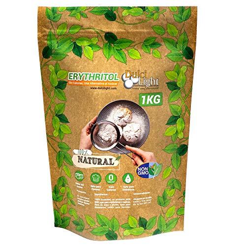 Dulci Light Dulce Y Favorable Eritritol 100% Natural Envase Ecologico - 1 Kg