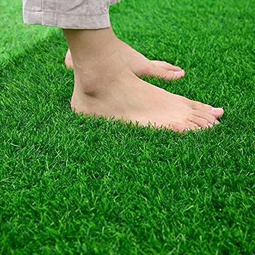 GFBHD Kunstrasen Künstlicher Rasen Synthetischer Grasmatte dauerhaft leicht zu reinigen, um weich zu reinigen und Nicht zu verblassen, können Sie drinnen und draußen eingesetzt Werden