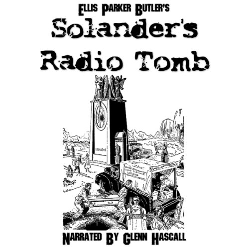 Solander's Radio Tomb audiobook cover art