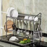 Premium Racks Professional Over The Sink Dish Rack - Fully Customizable - Multipurpose - Large Capacity