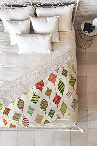 Deny Designs Sabine Reinhart Ornaments Sherpa Throw Blanket, 50x60, Multicolor