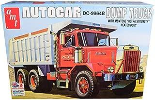 New Skill 3 Model Kit Autocar DC-9964B Dump Truck 1/25 Scale Model by AMT