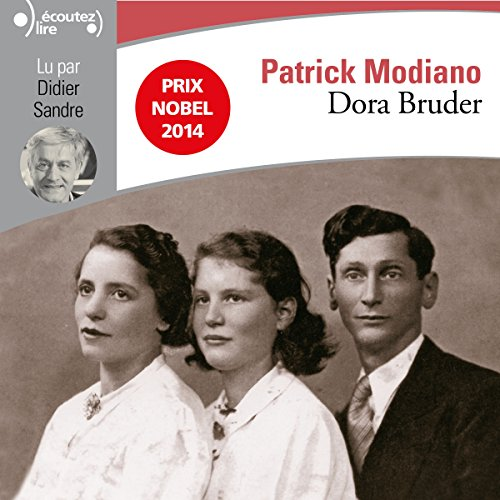 Dora Bruder audiobook cover art