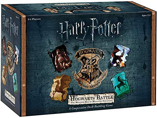 USAopoly DB010-400 Harry Potter Hogwarts Battle Deck Building Spiel, DB010-508