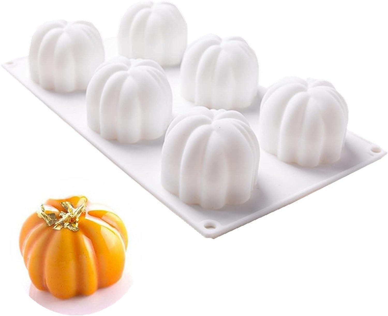 Cake San Jose Mall Molds Silicone 3D Mini Candle Mold Pumpkin Shape Super sale F