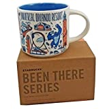 Starbucks UNIVERSAL ORLANDO RESORT BEEN THERE SERIES ACROSS THE GLOBE COLLECTION Ceramic Coffee Cup, 14 Fl Oz