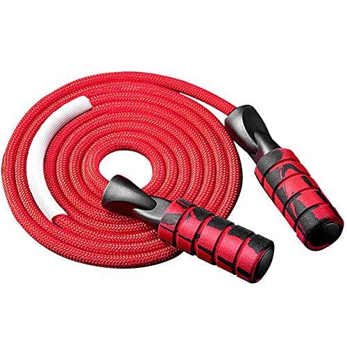 Springseil Speed Rope | verstellbare Stahlseile, Anti-Rutsch Griffe | Crossfit, Profi Sport, Boxen, Training, RPM | Erwachsene, Damen Herren Kinder