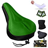 Karetto Bike Gel Seat Cover Excercise Bicycle Saddle Cover with...