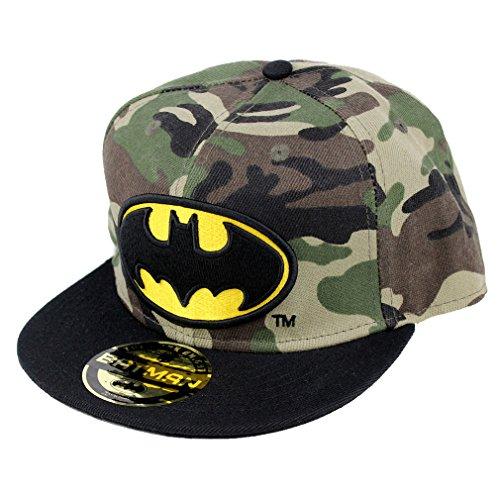 BATMAN Casquette Snapback Camouflage Militaire