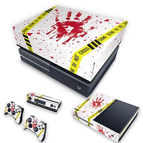 Capa Anti Poeira e Skin para Xbox One Fat - Cena De Crime Scene