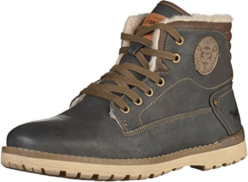 Mustang Herren 4092-602-259 Klassische Stiefel, Grau (259 graphit), 48 EU
