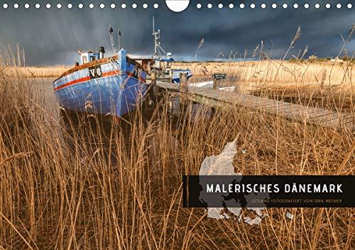 Malerisches Dänemark (Wandkalender 2020 DIN A4 quer)