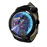 My Hero Academia Reloj con Pantalla táctil Led Resistente al Agua Reloj de Pulsera con luz Digital Unisex Cosplay Regalo Nuevos Relojes de Pulsera niños-A029
