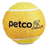 Petco Brand - Petco Tennis Ball Dog Toy in Yellow, 2.5', X-Small