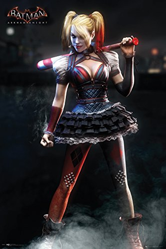 GB eye, Batman Arkham Knight, Harley Quinn, Maxi Poster, 61 x 91,5
