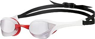 ARENA 1E032/515 Gafas de natación Unisex Talla única Adulto - Gafas de natación (Unisex, Talla única, Rojo, Blanco, Termoplástico de Poliuretano (TPU), Transparente, Policarbonato)