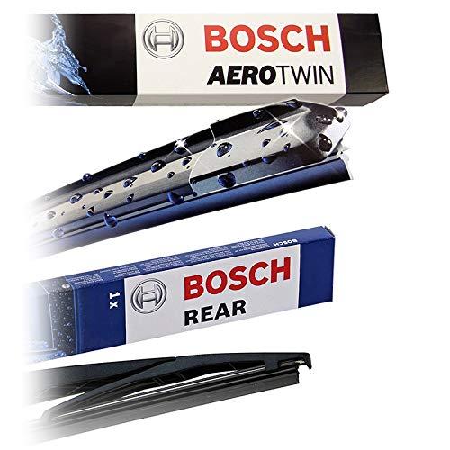 Set Bosch Wischer Wischerblatt Wischerblätter Scheibenwischer Scheibenwischerblätter Aerotwin AR650U + Heckwischer Heckwischerblatt Heckscheibenwischer H300