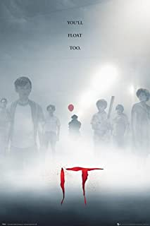Close Up Póster Stephen King'S IT - You'Ll Float Too [Key Art] (61cm x 91,5cm)